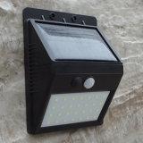Split Tipo Lámpara solar de interior Uso exterior Luz de pared de sensor de movimiento 28 LED de iluminación de seguridad con cables de extensión extra larga para patio de jardín