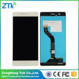 Visualización del LCD del teléfono del reemplazo para la pantalla de Huawei P9