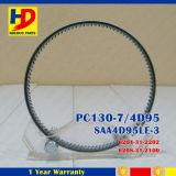 PC130-7 4D95 el anillo del pistón del motor para el anillo de Komatsu (6201-31-2201 6208-31-2100)