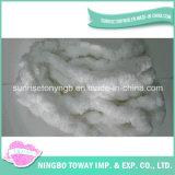 Tecelagem de fio de poliéster de elevada resistência loop de fios de fantasia de algodão