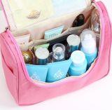 中国の卸し売り新しいデザインナイロン構成のトロリー箱のハンドバッグのポケット袋、構成の化粧箱、旅行化粧品袋