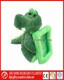 Jouet mignon d'Aligator de peluche avec le bâti de photo