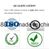Pista ultra fina 8W del silicón para la fábrica inmediata de la ISO de la pista del boquete de RoHS del envío de la muestra libre del ranurador