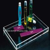Grand rond en plastique acrylique clair profonde desservant le bac de douche (BTR-P1008)