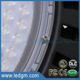 45 60 90 120 grados IP65 impermeabilizan lámpara de la bahía del UFO 100W LED de la UL la alta
