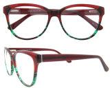 La lente enmarca las lentes de la receta de las lentes del acetato de los fabricantes