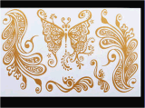 Tatuaje impermeable temporal del arte de las etiquetas engomadas del tatuaje de la manera