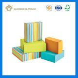 Rectángulo de envío acanalado impresión colorida del cartón con el Auto-Bloqueo (rectángulo de envío del tirón)