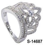 Nieuw ModelZilver 925 van de Ring van het Ontwerp van de Kroon van de Juwelen van de Manier