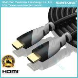 1080P/2160 HDTV, DV를 위한 이더네트를 가진 HDMI 케이블에 1.4/2.0V 고속 HDMI