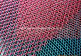 Maglia ampliata ricoperta PVC del nastro metallico