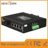 4 Tx 1 interruptor industrial de la red de Ethernet del acceso del gigabit de Fx
