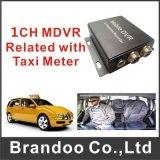 1 sustentação Home 64GB do táxi DVR do veículo do barramento do carro DVR do sistema de segurança da canaleta mini