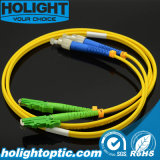 De Kabel FC van de Verbindingsdraad van de optische Vezel aan E2000A Duplex Gele Sm