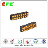 Doppelte Reihe Pogo Pin-federgelagerter Verbinder für die Aufladung
