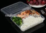 contenitore di alimento di plastica a gettare dello scompartimento 800ml 4 (SZ-006)