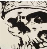 Autoadesivo provvisorio impermeabile del tatuaggio del copricapo indiano del cranio