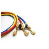 Yute SAE J2888 3 couleur flexible de charge avec les raccords en laiton