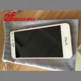 Maquinado CNC de piezas de plástico personalizada caso del teléfono móvil de la cubierta protectora de aluminio metal de alta calidad chorreo de arena