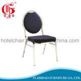 Cadeira de banquete empilhável empilhável de couro PU
