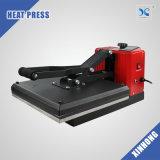 máquina de la prensa de la camiseta de la cubierta del manual de los 38X38cm