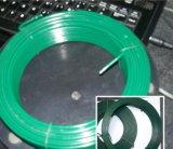 De groene Zwarte Draad van het Ijzer Wire/PVC van de Kleur pvc Met een laag bedekte