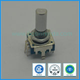 11mm vertical azul Rotary encoder incremental para el audio