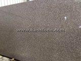 カウンタートップのための磨かれた灰色の黒い錆ついた大きい平板の花こう岩
