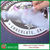 Qingyi mascotas película de la impresión de la etiqueta