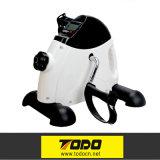 Exercitador de Fitnesse do ciclo do exercitador do pedal do indicador do LCD bicicleta de exercício interna do mini