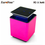 Praça de mãos livres Cube Portable para cima e Para Baixo do alto-falante Bluetooth