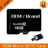 OEM 상표 접합기를 가진 고속 TF 마이크로 SD 메모리 카드