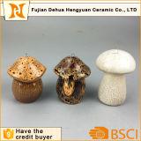 Fungo d'attaccatura di ceramica per la decorazione del giardino