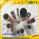 Perfil de extrusão do tubo de alumínio Fabricação para tubo de roupa