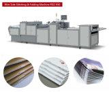 Compartimiento, línea del condensador de ajuste del libro, máquina automática de la costura de montura y condensador de ajuste lateral tres