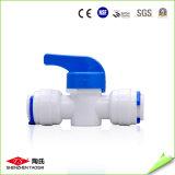 Пластичный ручной полный клапан для очистителя воды