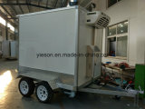 Cold Room Freezer Box Trailer Street Mobile Fast Food Truck