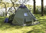 Outdoor Camping de pliage 10 personne pagode tente tipi indien