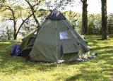 خارجيّة 10 شخص يطوي يخيّم [إيندين] [بغدا] [تيبي] خيمة