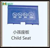 Piezas de plástico Carro de compras Asiento de bebé Placa de asiento infantil
