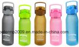 1000ml Laege Kapazitäts-Wasser-Flasche, Plastiksport-Wasser-Flasche, grüne Farben-Wasser-Flasche