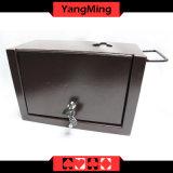 Engagierter Eisen-Bargeld-Halter-Luxuxkasten/pumpendes Wasser-Becken der Kasino-Schürhaken-Tisch-Spiele Ym-Mx02