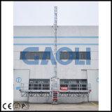 Plataforma de funcionamiento del mástil doble de Gaoli que sube