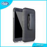 品質のスマートな電話Kickstandの極度の耐震性のホルスターのSamsungギャラクシーE5 E5000のためのコンボのハイブリッド箱カバー