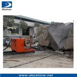 Le fil de diamant a vu la machine pour le bloc de granit