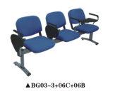 Bequeme Pubilc Möbel-Wartestuhl mit Kissen-Sitz