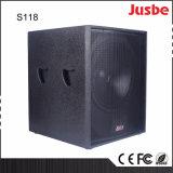"""S118 650W l'Audio professionnel Concert Live 18"""" du caisson de basses"""
