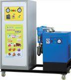 Máquina da microplaqueta de batata com gás do nitrogênio