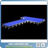 販売法のための携帯用段階を折る中国の工場LED段階