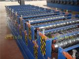 máquina de formação de rolos de papelão ondulado de folha dupla